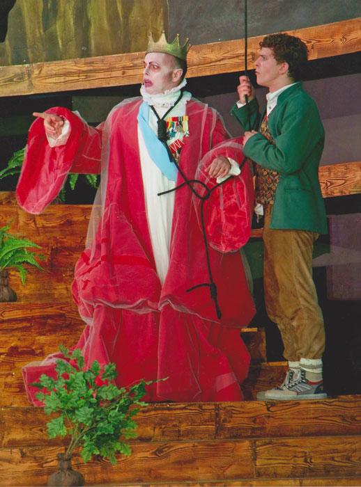 VON EINEM DER AUSZOG DAS FÜRCHTEN ZU LERNEN  Grimm Festspiele Hanau 2014